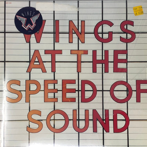 Paul McCartney & Wings - At The Speed of Sound (In Open Shrink with Hype Sticker)