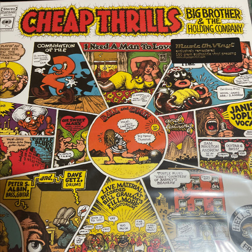 Big Brother & The Holding Company - Cheap Thrills (MOV)