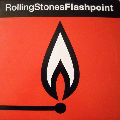 The Rolling Stones - Flashpoint (1991  -  NM/ NM )