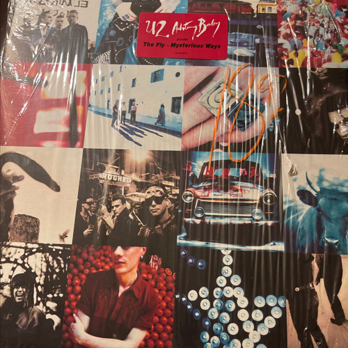 U2 - Achtung Baby (Original uncensored 1991 pressing in open shrink with hype sticker)