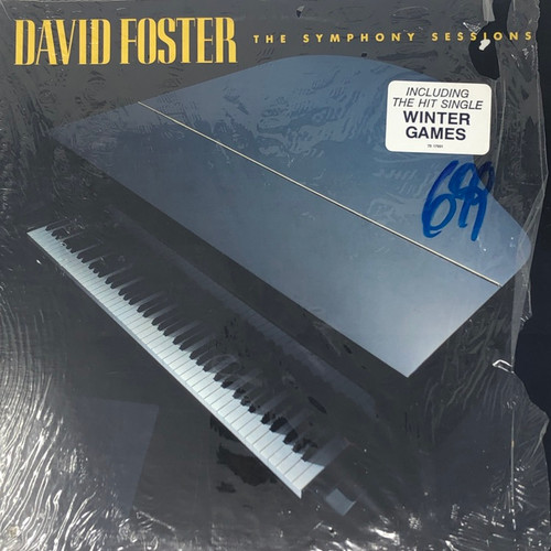 David Foster - The Symphony Sessions (In Open Shrink with Hype Sticker)
