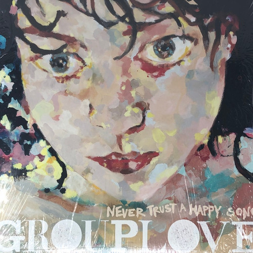 Grouplove - Never Trust A Happy Song  (US 2011 Press in Open Shrink - Out of Print )