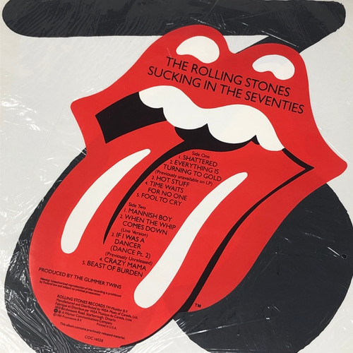The Rolling Stones - Sucking In The Seventies (In Open Shrink with Big Hype Sticker)