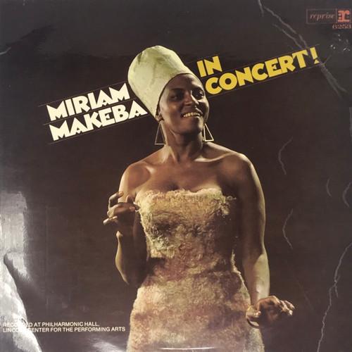 Miriam Makeba - In Concert! (UK Pressing)