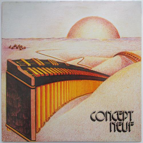Concept Neuf - Concept Neuf (restocked. Listen!)