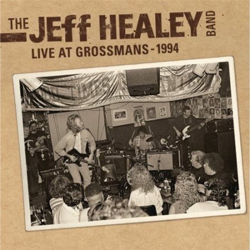 The Jeff Healey Band - Live At Grossman's ( Clear  Vinyl )