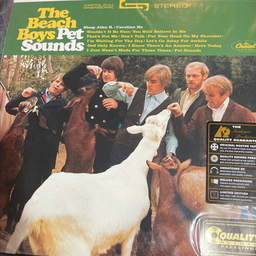 The Beach Boys - Pet Sounds (200g Stereo)