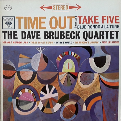 The Dave Brubeck Quartet - Time Out (Canadian Stereo 6 eye VG+)