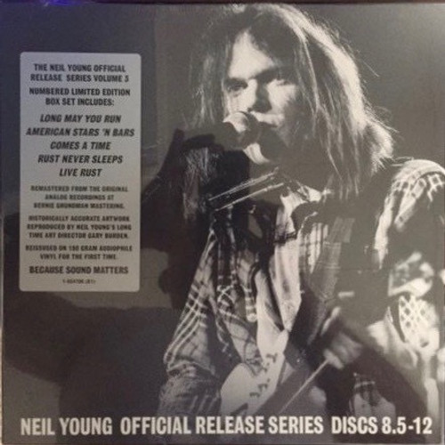 Neil Young - Official Release Series Discs 8.5 - 12 ( Low Number 000633)
