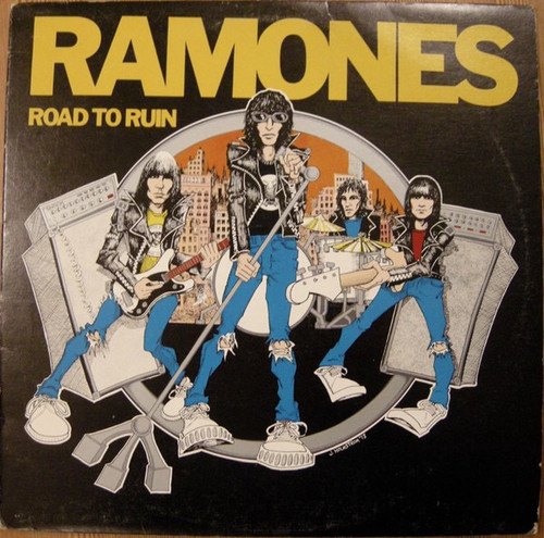 Ramones  Road to Ruin 1st Canadian Pressing with Yellow inner)