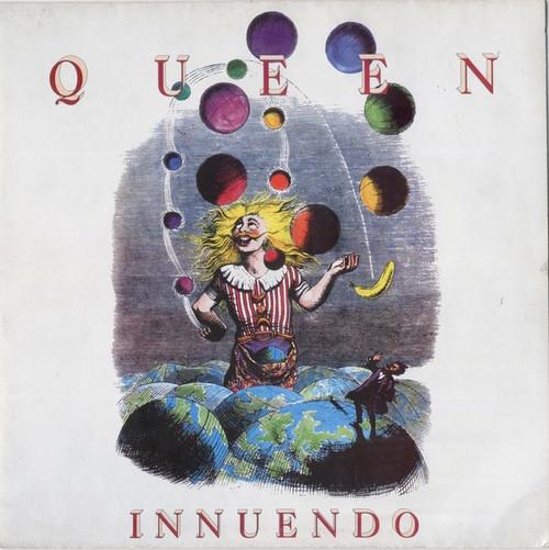 Queen - Innuendo (1991 UK  vinyl is NM)
