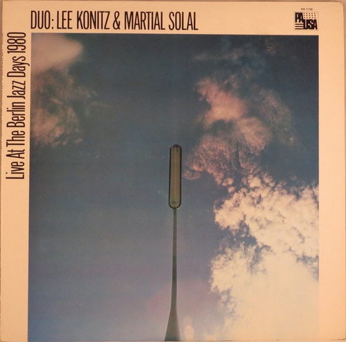 Lee Konitz - Duo: Lee Konitz & Martial Solal (Live At The Berlin Jazz Days 1980)