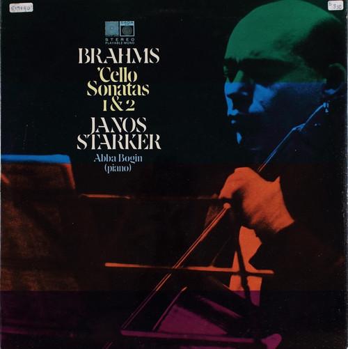 Janos Starker / Brahms - Cello And Piano Sonatas (1963 Stereo UK)