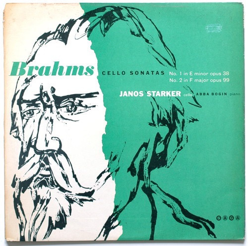Jano Starker - Brahms - Cello And Piano Sonatas (Mono 1964 UK)