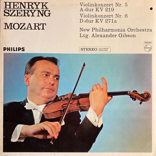 Henryk Szeryng - Violin Concerto No.5 In A, K.219 / Violin Concerto No.6 In D, K.271a