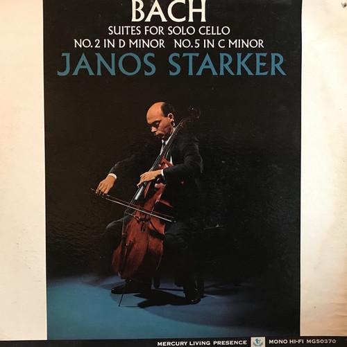 Starker - Bach - Suites For Solo Cello No.2 In D Minor No.5 In C Minor