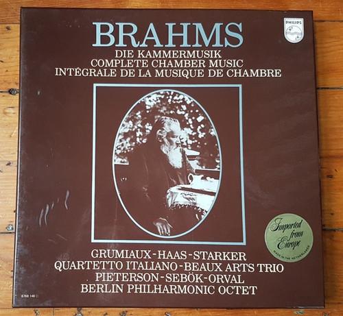 Johannes Brahms - Die Kammermusik = Complete Chamber Music - 15 LP (Starker - Grumiaux -Haas)