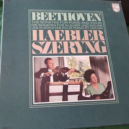 Beethoven Haebler/Szeryng - The Complete Sonatas For Piano And Violin (5 LP NM )