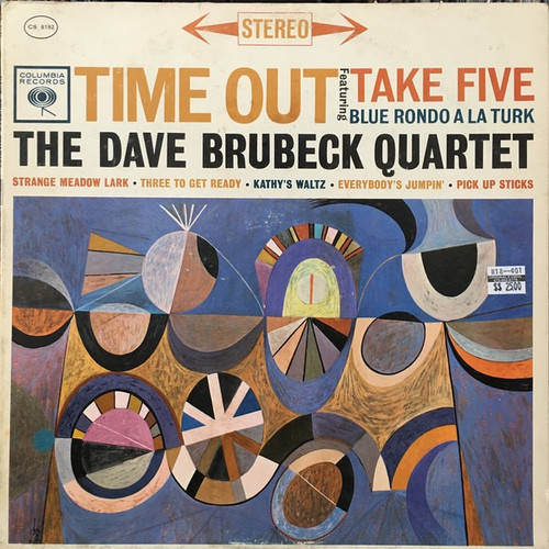 The Dave Brubeck Quartet - Time Out (Stereo 2 Eye VG+)