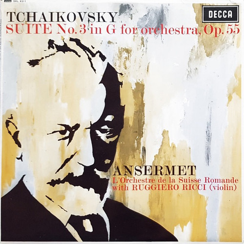 Pyotr Ilyich Tchaikovsky - Suite No. 3 In G For Orchestra, Op.55 (UK Stereo Decca SXL-6311 NM)