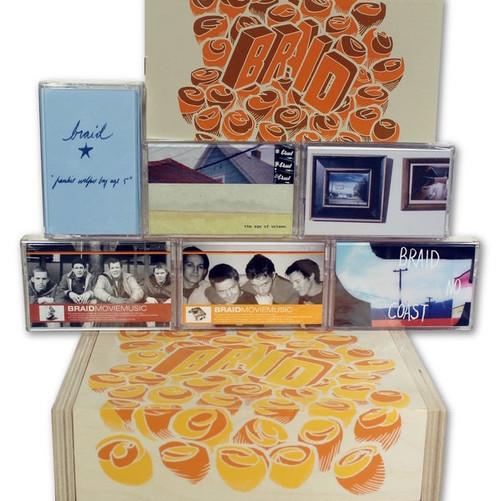 Braid - Braid 6 Cassettes Box Set (sealed)