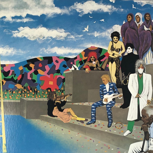 Prince And The Revolution - Around The World In A Day (1985 Canadian Gatefold)