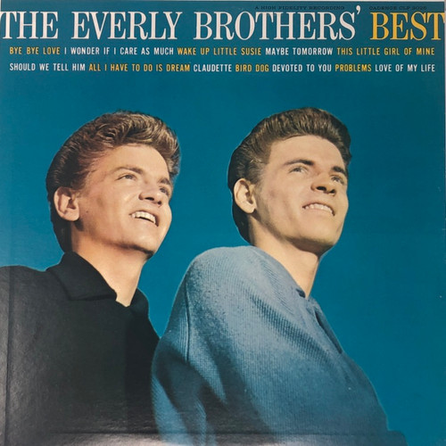 Everly Brothers - The Everly Brothers' Best (Canada 1959 Mono)