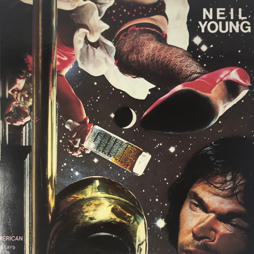 Neil Young - American Stars 'N Bars (1993 Euro Reissue NM)