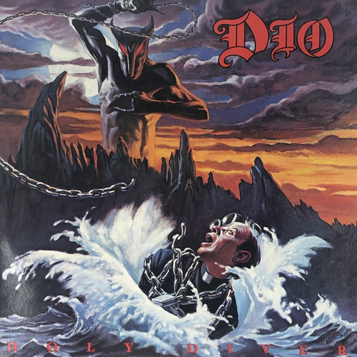 Dio - Holy Diver (Early UK Pressing NM)
