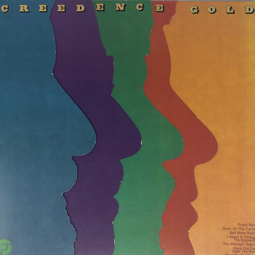 Creedence Clearwater Revival (CCR) - Creedence Gold (US Multi-Panel Cover)