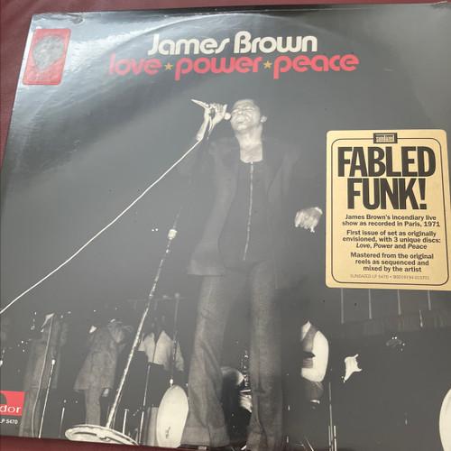 James Brown - Love-Power-Peace (3 LP set)