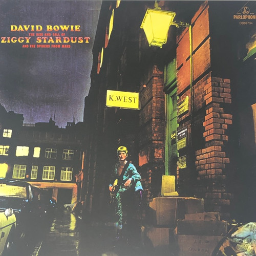 David Bowie - The Rise And Fall Of Ziggy Stardust And The Spiders From Mars (2017 Limited Edition Gold Vinyl)