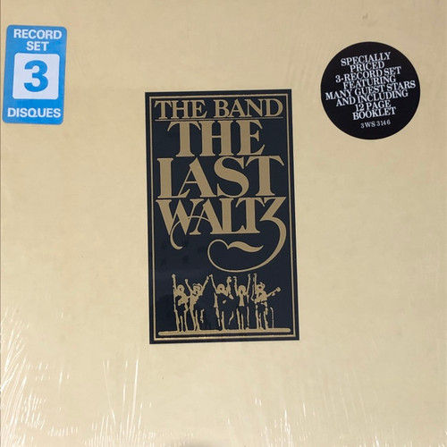 The Band - The Last Waltz (Complete Early Reissue in Open Shrink with Hype Stickers NM)