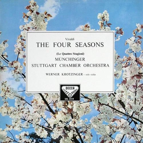 Antonio Vivaldi - The Four Seasons (Decca SXL2019) VG++