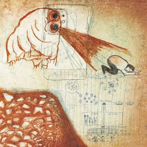 Deerhoof - Future Teenage Cave Artists (Ltd Blood Colored Vinyl)