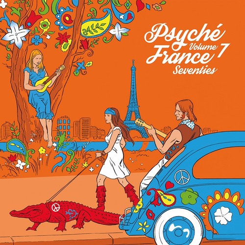 Various - Psyché France Seventies Volume 7 (2021 RSD Limited Edition in Open Shrink)