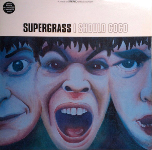 """Supergrass - I Should Coco (UK 1995 Limited Edition 1st Press with 7"""" - Mispress)"""