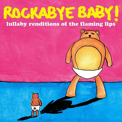 Steven Charles Boone - Rockabye Baby! Lullaby Renditions Of The Flaming Lips (2012 RSD Black Friday Limited Edition on Pink Vinyl)