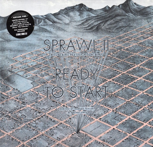 "Arcade Fire - Sprawl II / Ready To Start (2012 RSD Limited Edition Remix 12"" Single SEALED)"