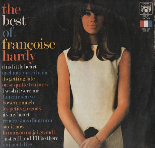 Françoise Hardy - The Best Of Françoise Hardy (1970 UK import)