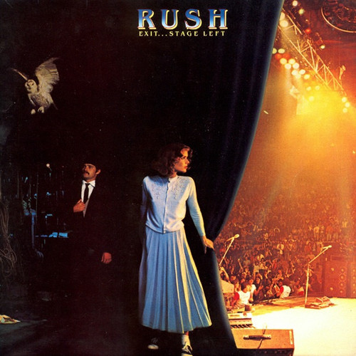 Rush - Exit...Stage Left (1981 original sealed with Hype sticker)