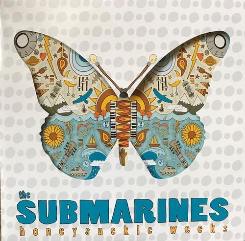The Submarines - Honeysuckle Weeks (Die Cut cover)