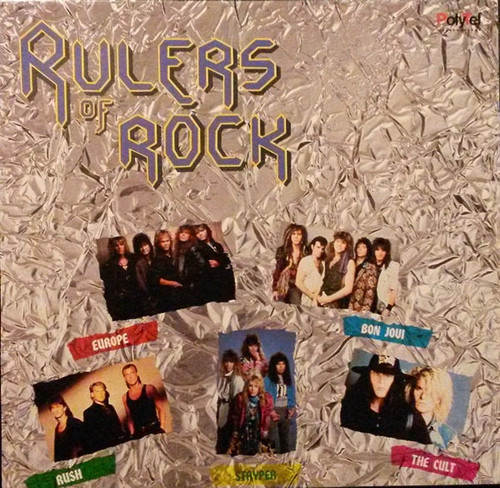 Various - Rulers Of Rock (Sealed - Rush Ozzy Cult  Kiss)