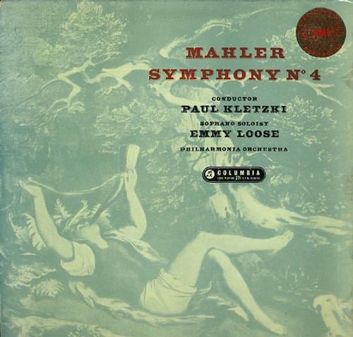 Gustav Mahler - Symphony No. 4 (SAX 2345 1958 Stereo)