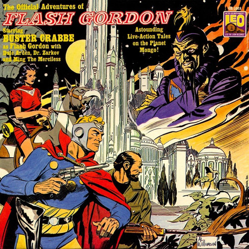 Various - The Official Adventures Of Flash Gordon (US 1966 VG+)