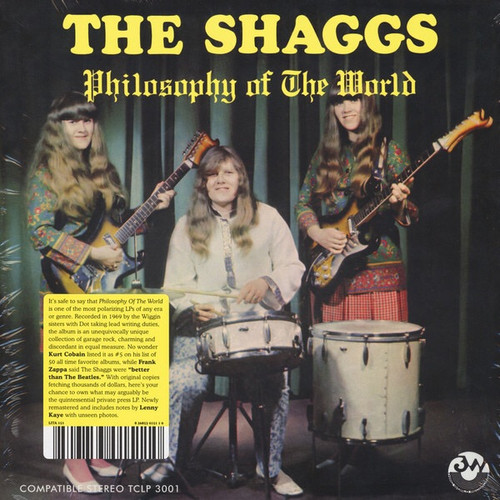 """The Shaggs - Philosophy Of The World (2021 LITA Limited Edition on """"Foot Foot"""" Colour Splatter Vinyl)"""
