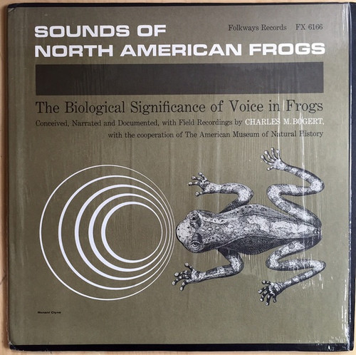 Charles M. Bogert - Sounds Of North American Frogs