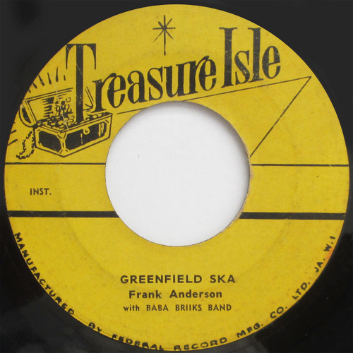 """Eric Monty Morris / Frank Anderson """"Children Of Today"""" / """"Greenfield Ska"""" (45 single)"""