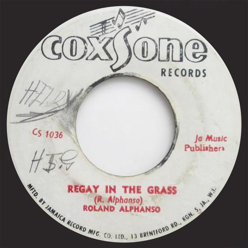 "Roland Alphonso / Roy Richards  ""Reggae In The Grass"" / ""Get Smart"" (45 single)"