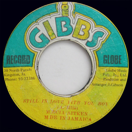 """Marcia Aitken """"Still In Love With You Boy """" / Mighty Two """"Lover Boy""""  (45 single)"""